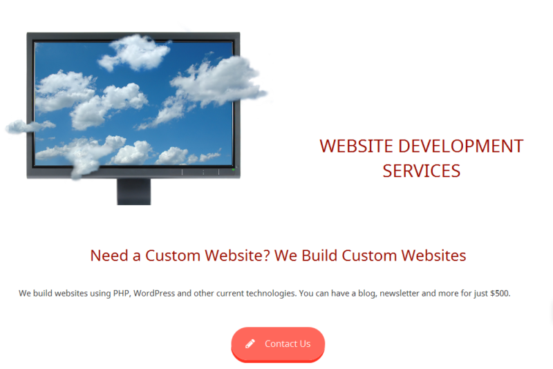 Landing Page Example A